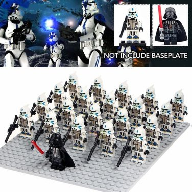 Darth Vader Commander Stormtrooper Army Battle Pack Compatible Lego Star Wars Minifigures
