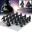 Darth Vader Starfighter Commander Stormtrooper Black Lego Star Wars Minifigures Compatible
