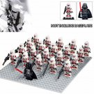 Star Wars Darth Vader White Red Stormtrooper Army Compatible Lego Star Wars Sets