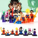 Custom Dragon Ball Z Son Goku Vegeta Minifigures Compatible Lego Dragon Ball