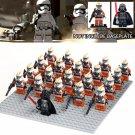 Darth Vader Stormtrooper Army Orange Compatible Lego Star Wars Troopers