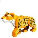 Summer Jungle Sets Animals Big Cat Line Up Tiger Minifigure Compatible Lego Animals