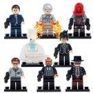 Marvel Superhero Invisible Man Arkham Flash Minifigures Compatible Lego