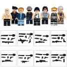 World War 2 Soldiers Brickarms Minifigures Compatible Lego WW2 Soliders Little League