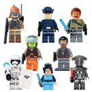 Imperial Pilot Bodhi Rook M-OC Hunter Droid Pao First Order Colonel Minifigures Lego Death Star