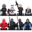 Star Wars 7 Shadow Trooper Darth Nihilus Shadow Guard Minifigures Compatible Lego 75079 Sets