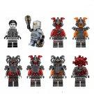 Custom Ninjago NEURO Ninja Vermin The Wei Snake Bronk Lego Minifigures Compatible Toy