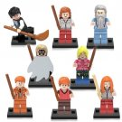Harry Potter and Philosopher Stone fred weasley george Minifigures Compatible Lego