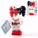 Nurse Harley Quinn Bricks Buildt Minifigure Compatible Lego Batman Movie Sets