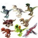 Jurassic Park World Dinosaurs Tyrannosaurus Rex Minifigure Fit Lego Dino Minifigures