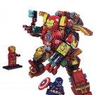 Marvel Iron Man vs Captain America Lego Marvel Compatible Building Toys