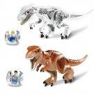 Jurassic  World Dinosaur Indominus rex T rex Breakout Compatible Lego T Rex Escape