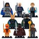 Super Heroes Thor Heimdall Hela Topaz Ragnarok Hammer Valkyrie Lego Minifigures Marvel Heroes