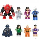 Green Lantern Hero Indigo Lex Luthor Jessica Cruz Black Hand Sanit Walker Atrocitus Fit Lego Minifig