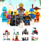 Nexo Enlighten King Knight Minifigure Compatible Lego King's Mech Minifigures