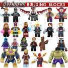 Avengers Infinity War Characters Thanos Ironman Minifigure Lego Sanctum Fit Toys