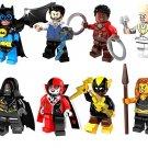 Super Hero Nakia Killmonger Minifigures Royal Talon DC Marvel Lego Batman Fit Toys