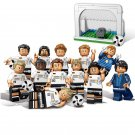 German Soccer Team 2018 World Cup National Team Players Minifigures Fit Lego German Soccer Team