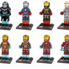 Iron Man 3 Minifigures Avengers SuperHeros Sets Comaptible Lego Marvel Minifigures