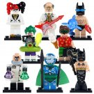 Batman Movie 2 Mermaid Batman Joker Harley Quinn Clock Robin Minifigures Fit Lego Supehero Toys