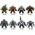Avengers Infinity War Super Hero Hulk Clayface Venom Wolverine Fit Lego Marvel Minifigures