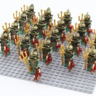 Egyptian Medieval Knights Army Trooper Minifigure for Lego pharaohs quest scorpion pyramid
