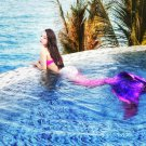 Fairy Pink Mermaid Tails for Swimming for Adult with Monofin, Best Gift for Her