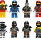 2018 Ninjago Phantom Ninja Minifigures Lego Compatible Toys