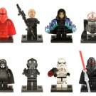 Star Wars Palpatine Royal Shadow Guard Stormtrooper Minifigures Fit for Lego Minifigures
