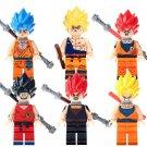 Son Goku 14 Minifigures Super Saiyan Minifigures for Lego Dragon Ball Toys