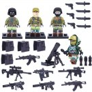Modern War Recon Russian Military Army Gear gUNS Minifigure for Lego Russian Soldiers