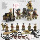 WW2 Pearl Harbor War Japanese Army Trooper Military Minifigure for Lego WW2 Soldiers