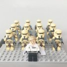 Rogue One Imperial Shoretrooper Director Krennic Army for Lego Star Wars Minifigures