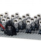 21pcs Star Wars Scout Troopers Army Clone Minifigures Darth Vaders fit Lego Minifgiures