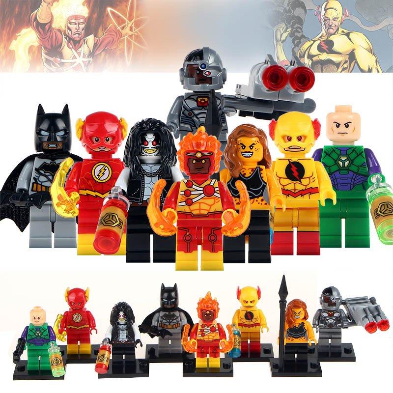 Summary -> Superhero Minifigures Megastore