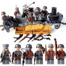 WW2 German Tiger Tank Soldiers Minifigures Fit Lego Military Sets Soldiers