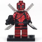 Custom Limited Deadpool Minifigures for Lego Marvel Comics Superhero Boy's Gift Idea