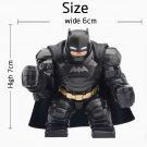 Custom Armoured Batman Minifigure Fit Lego DC Comics Superhero