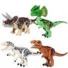 Jurassic World Dinosaur Triceratops Dilophosaurus Fit Lego Dinosaur Minifigures