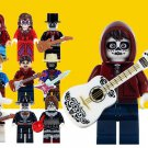 10pcs Custom Coco Day of the Dead Minifigures Coco Movie Fits Lego Minifigures