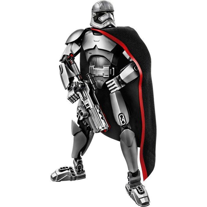 Custom Captain Phasma Figure Bricks Build Fit for Lego Star Wars Figures