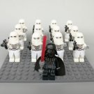 Clone Wars Snow Trooper With Darth Vader Minifigure for Lego Star Wars Minifigures