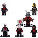 Ant Man Final Battle Custom Ant-Man Yellow Jacket Minifigures fit Lego SUper Heroes