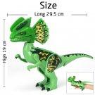 Jurassic World Dilophosaurus Custom Minifigures Bricks Built Lego Dinosaur Figure