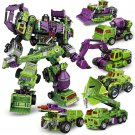 Custom Transformers Devastator Bricks Built Engine Toys Fit Lego Transformer Toys