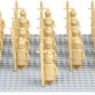 Custom Terracotta Warriors Army Minifigures Emperor Qin Fits Lego Warriors Minifigures