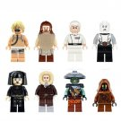 Custom Han Jawa Unduli Skywalker Qui Asajj Ventress Luminara Star Wars Minifigures Lego Fit Toys