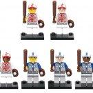Baseball Players Thomas with Beard Playing Minifigures fit Lego Basebal Leagure Players
