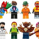 Super Hero Batman Kite Man Scarecrow  Robin Bruce Two-Face Minifigures Lego DC Hero Fit