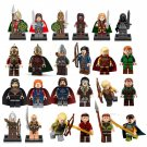 The Hobbit Minifigure Haldir King Theoden  Bricks Toys for Lego Lord of the Rings Minifigures